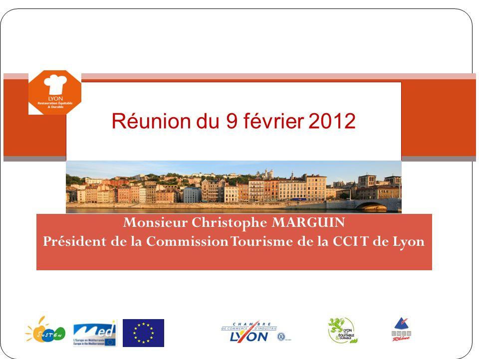 Réunion du 9 février 2012 Monsieur Christophe MARGUIN