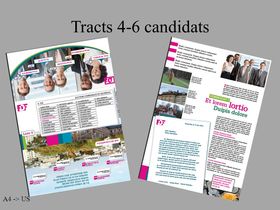 Tracts 4-6 candidats A4 -> US