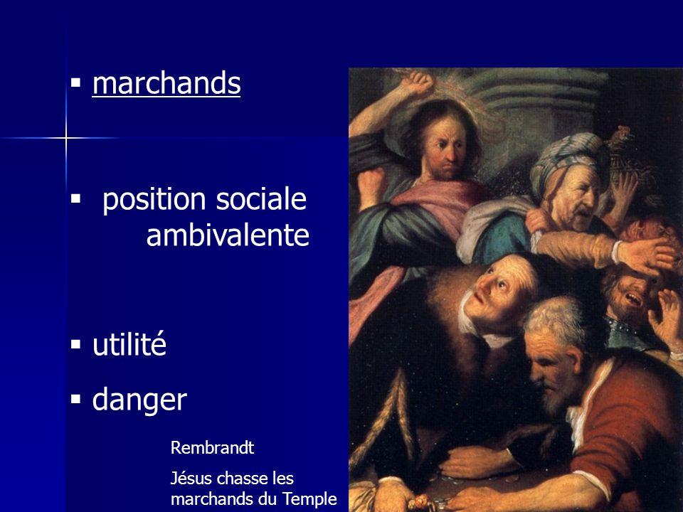 position sociale ambivalente