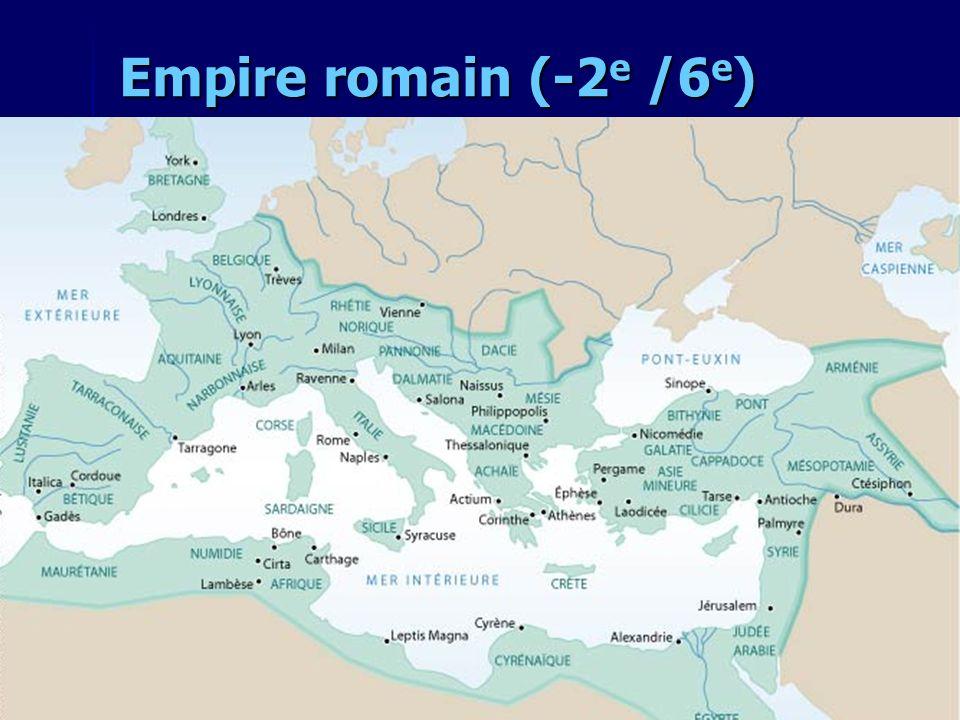Empire romain (-2e /6e)