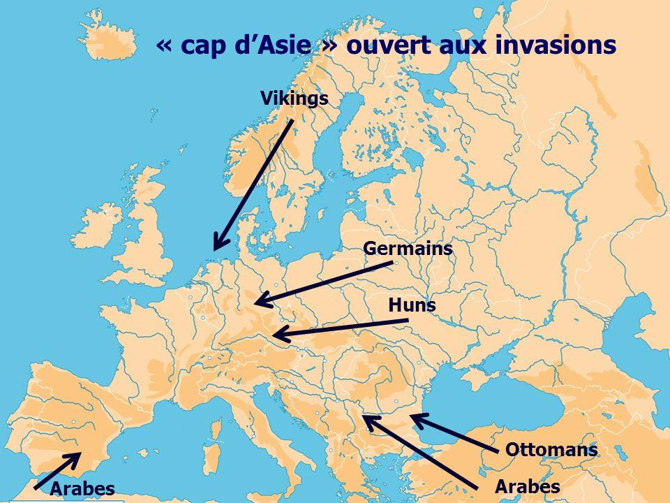 « cap d'Asie » ouvert aux invasions