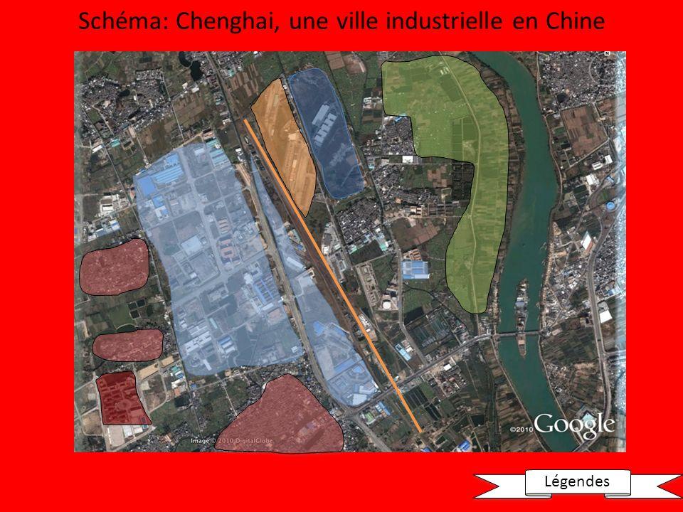Schéma: Chenghai, une ville industrielle en Chine