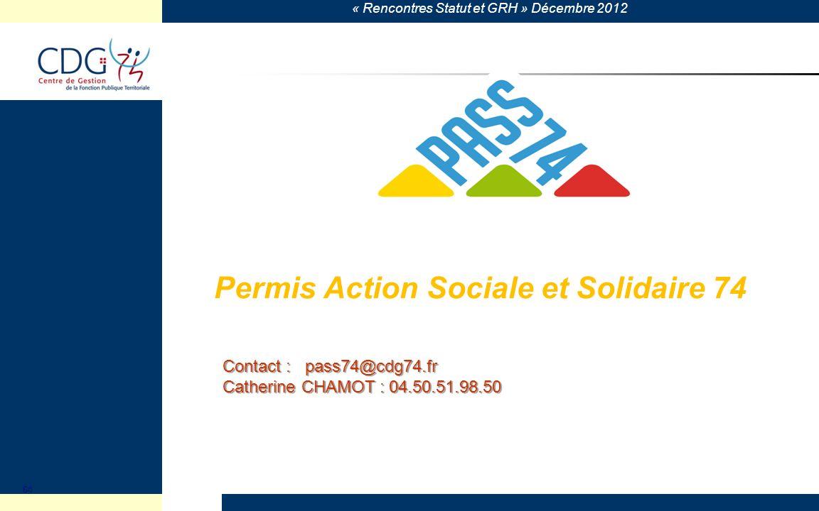 Permis Action Sociale et Solidaire 74
