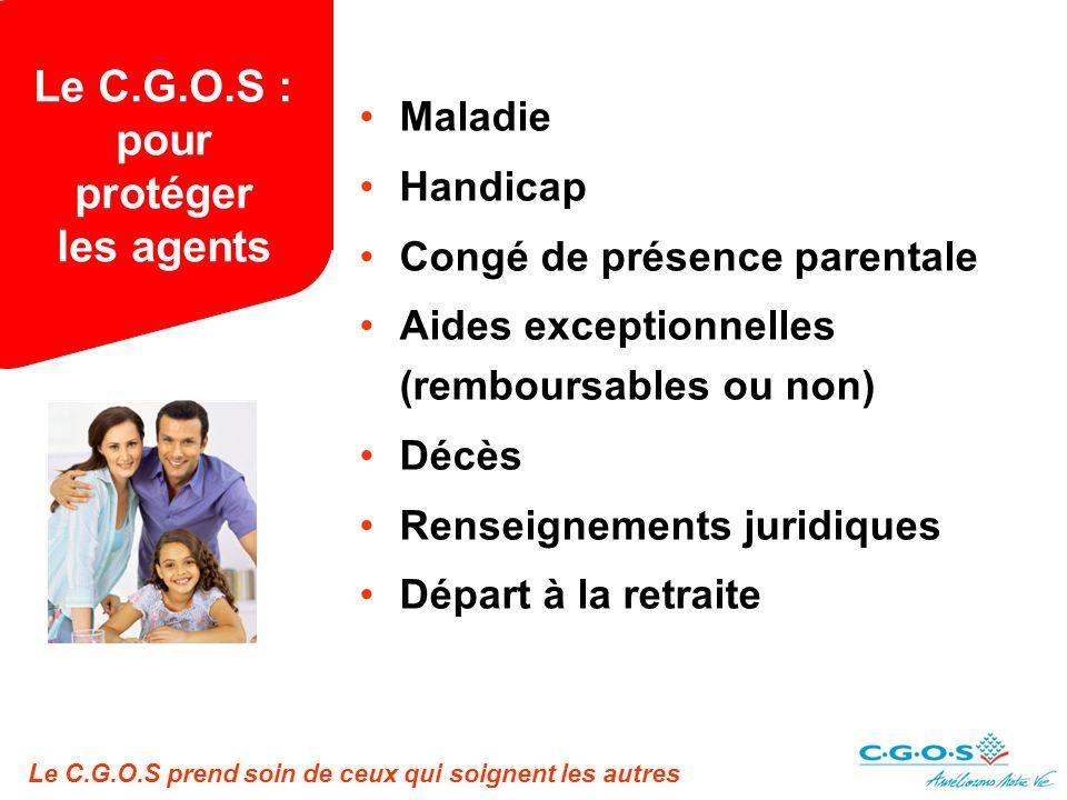 Le C.G.O.S : pour protéger les agents