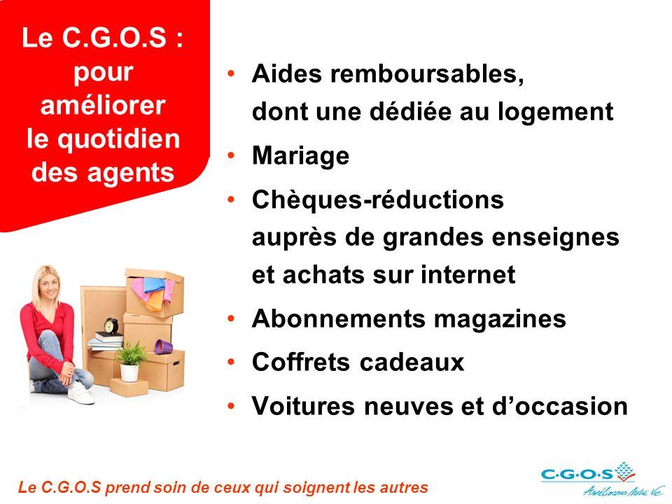 Le C.G.O.S : pour améliorer le quotidien des agents