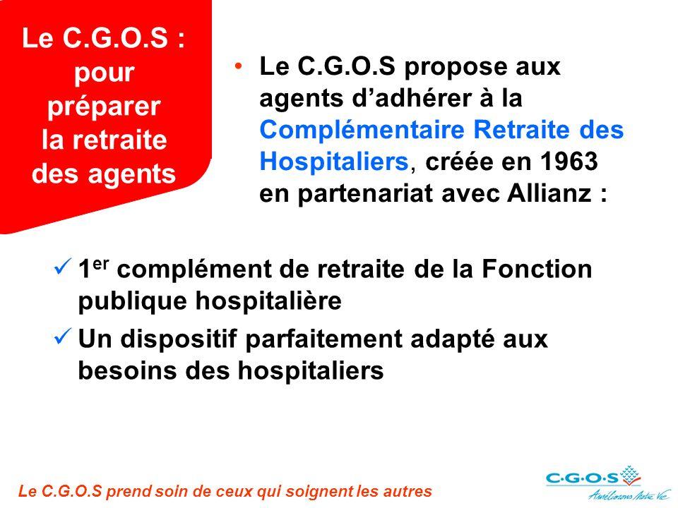 Le C.G.O.S : pour préparer la retraite des agents