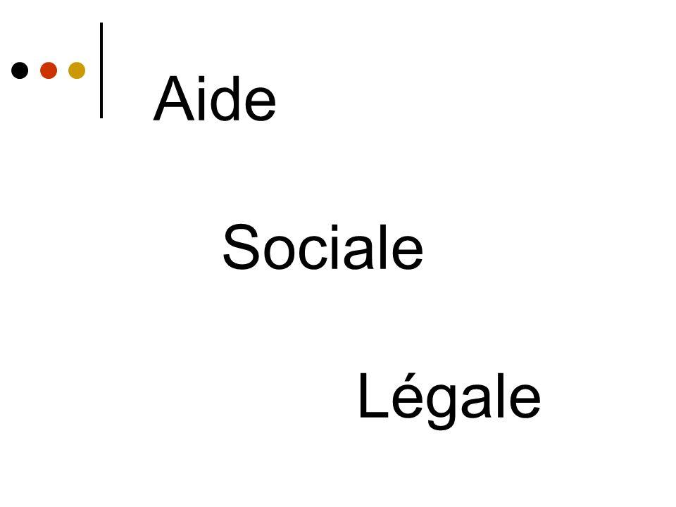 Aide Sociale Légale