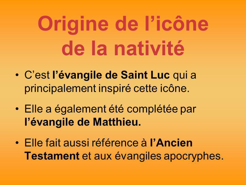 Origine de l'icône de la nativité
