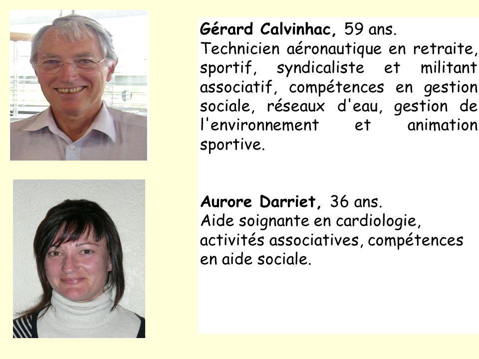 Gérard Calvinhac, 59 ans.