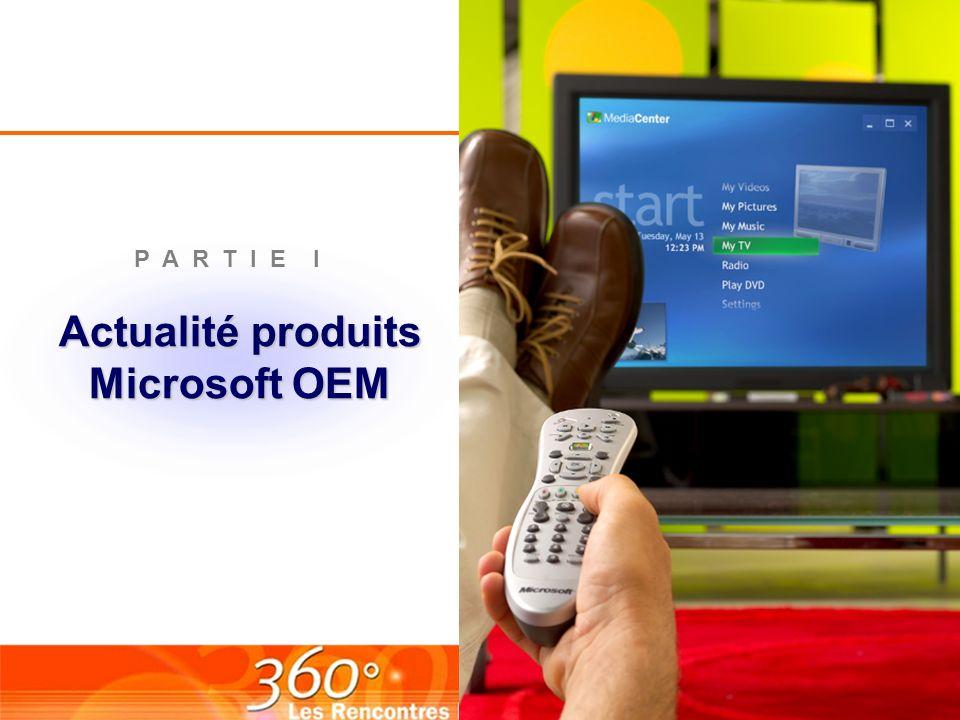 Actualité produits Microsoft OEM
