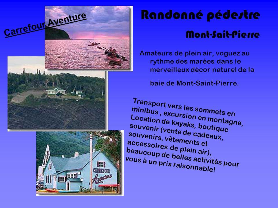Randonné pédestre Mont-Sait-Pierre Carrefour Aventure
