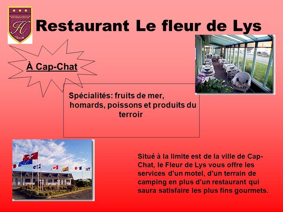 Restaurant Le fleur de Lys