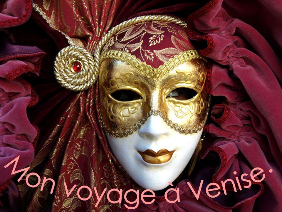 Mon voyage à Venise.