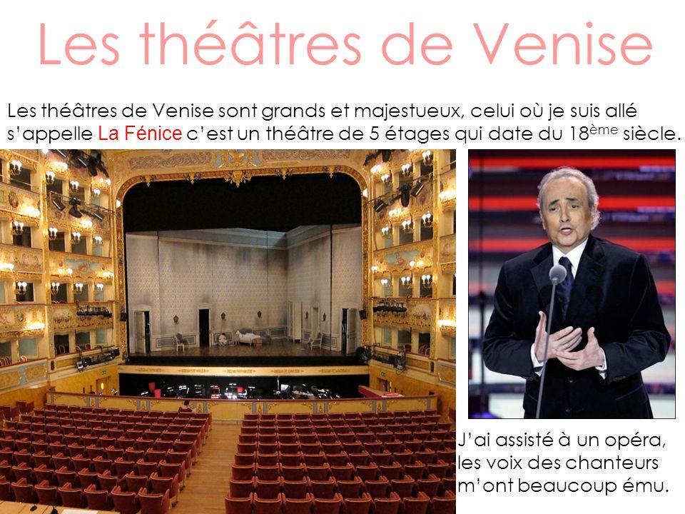 Les théâtres de Venise