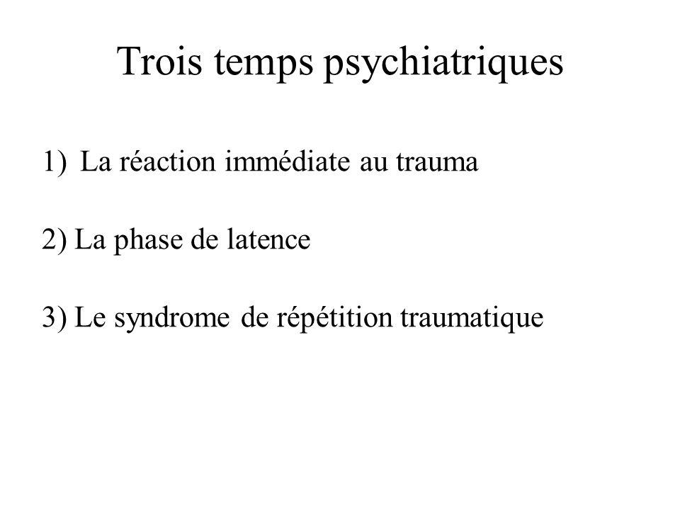 Trois temps psychiatriques