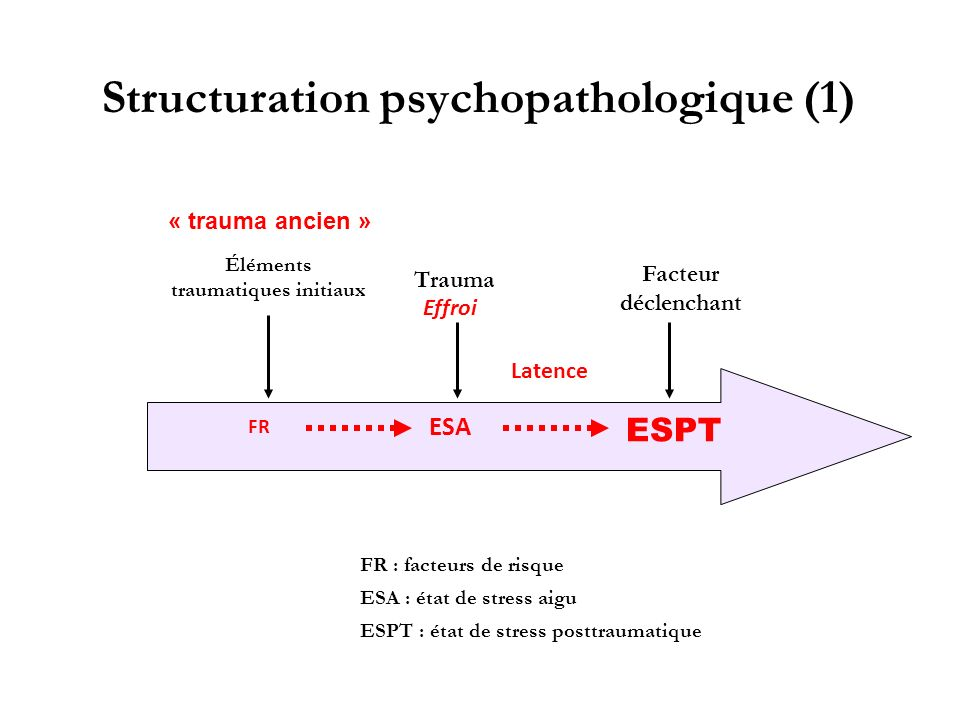 Structuration psychopathologique (1)