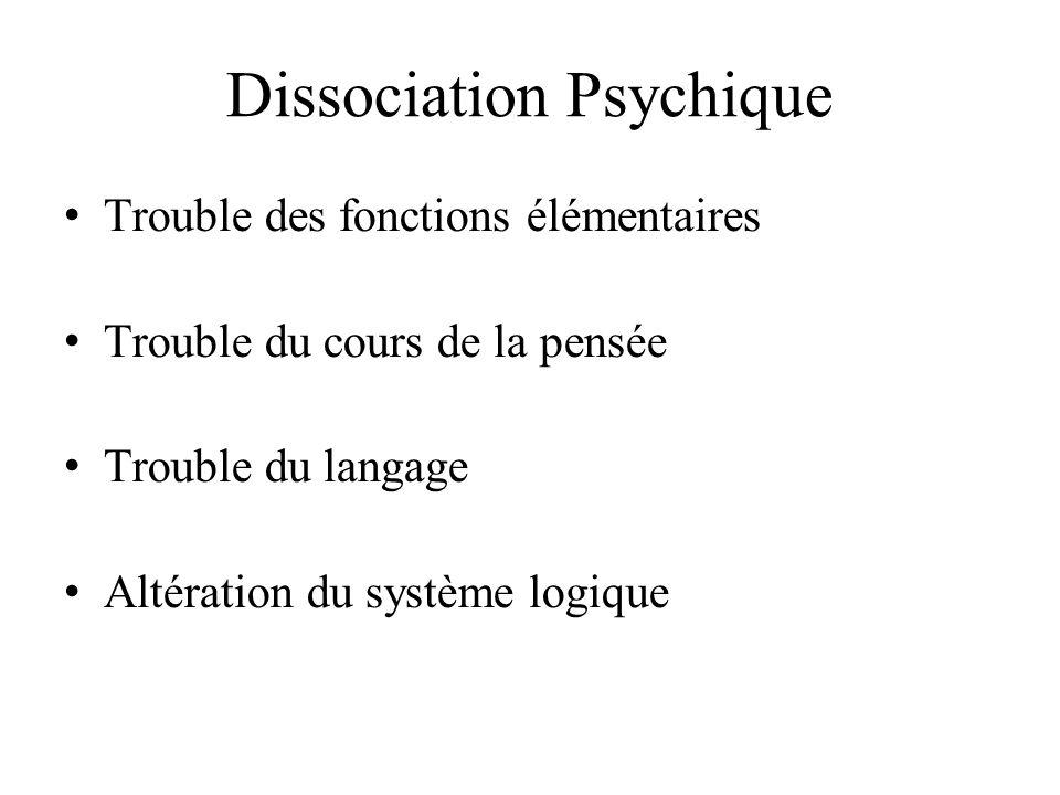 Dissociation Psychique