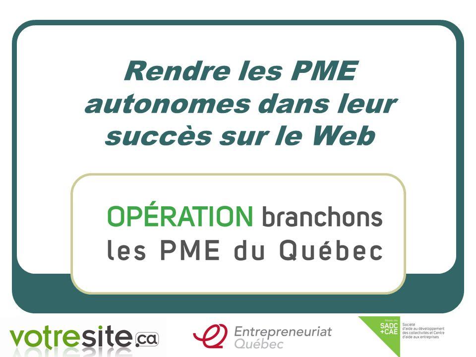Rendre les PME autonomes dans leur succès sur le Web