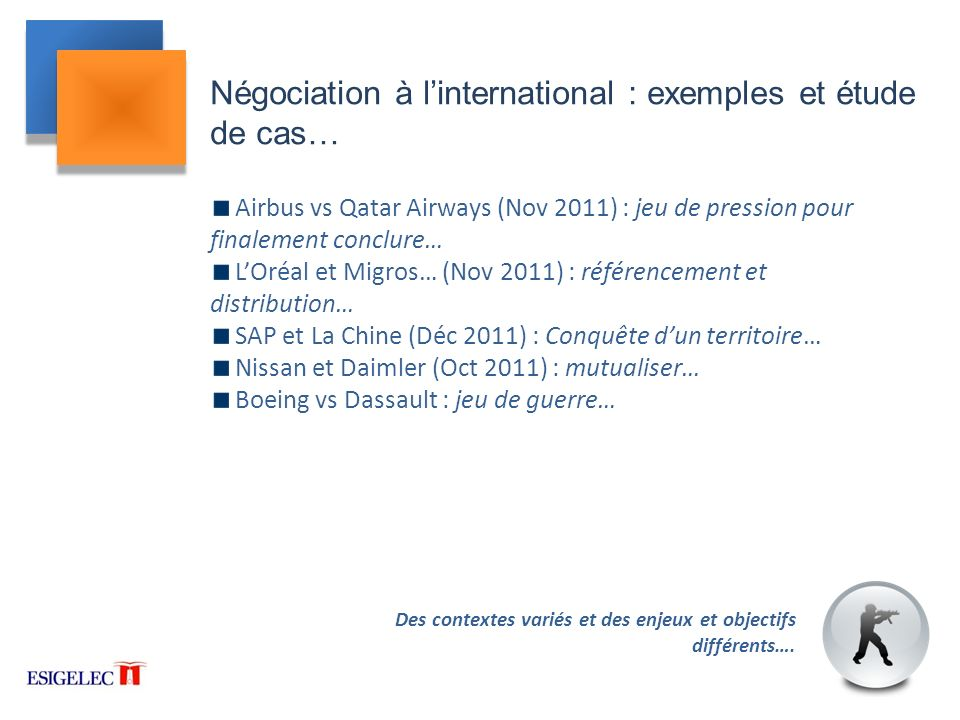 Négociation à l'international : exemples et étude de cas…