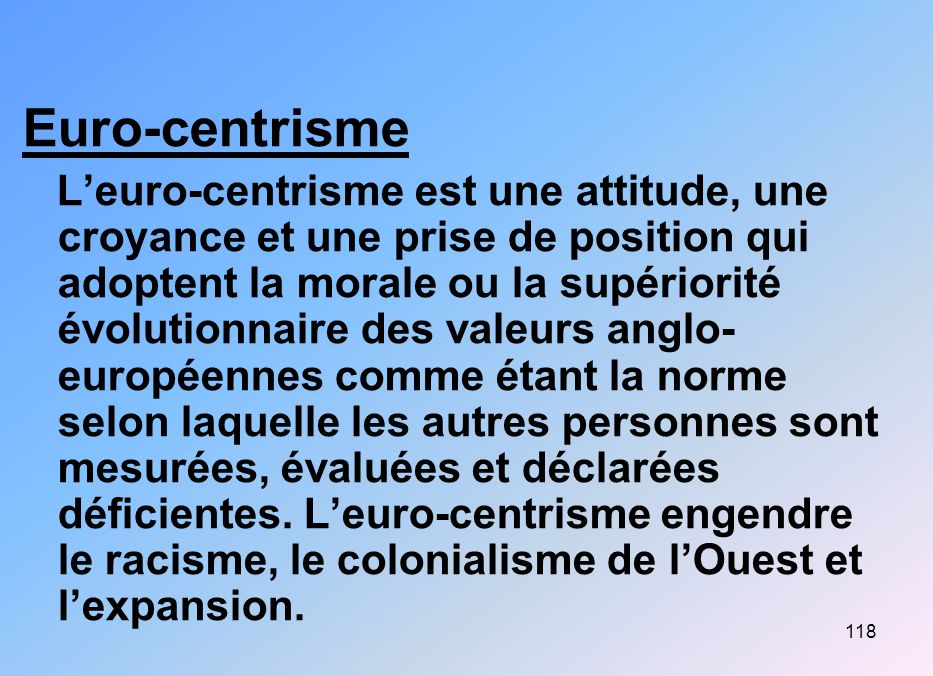 Euro-centrisme