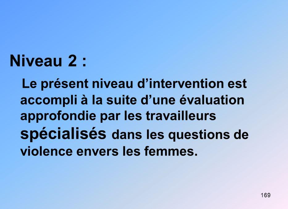 Niveau 2 :