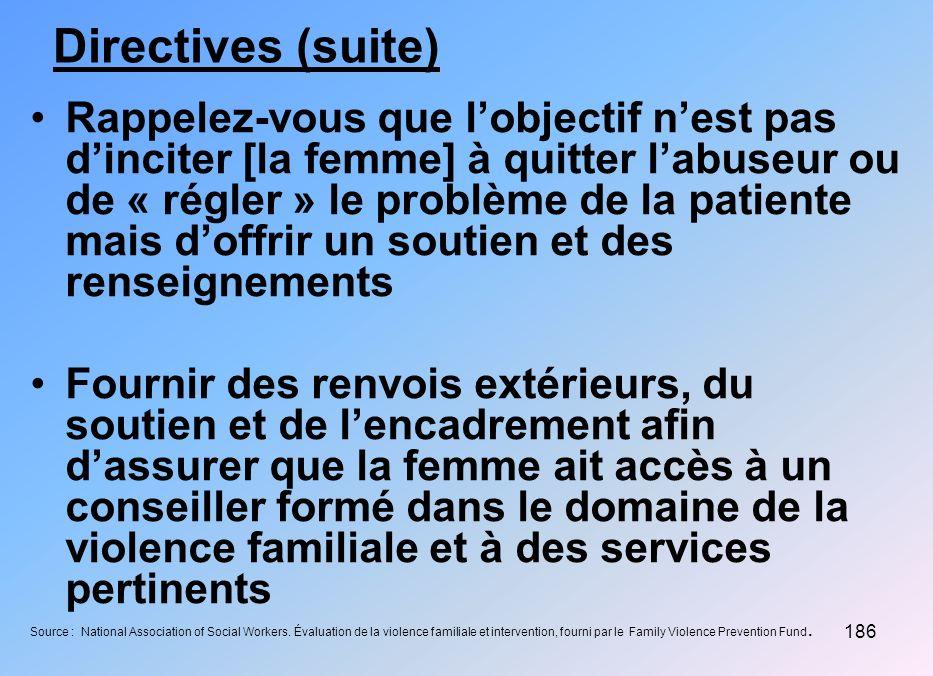 Directives (suite)