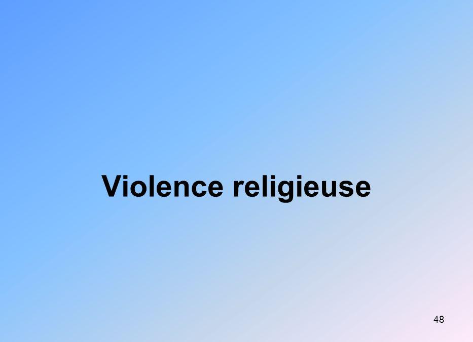Violence religieuse