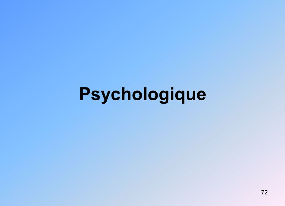 Psychologique