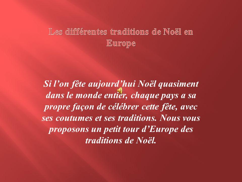 Les différentes traditions de Noël en Europe