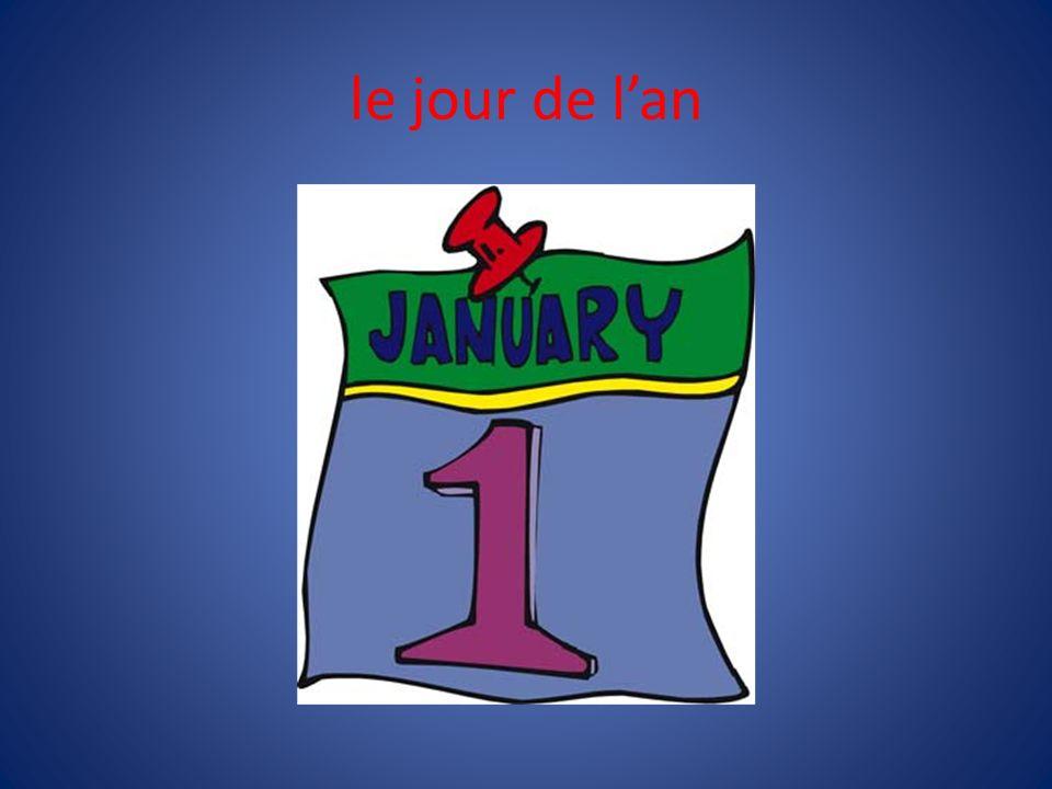 le jour de l'an