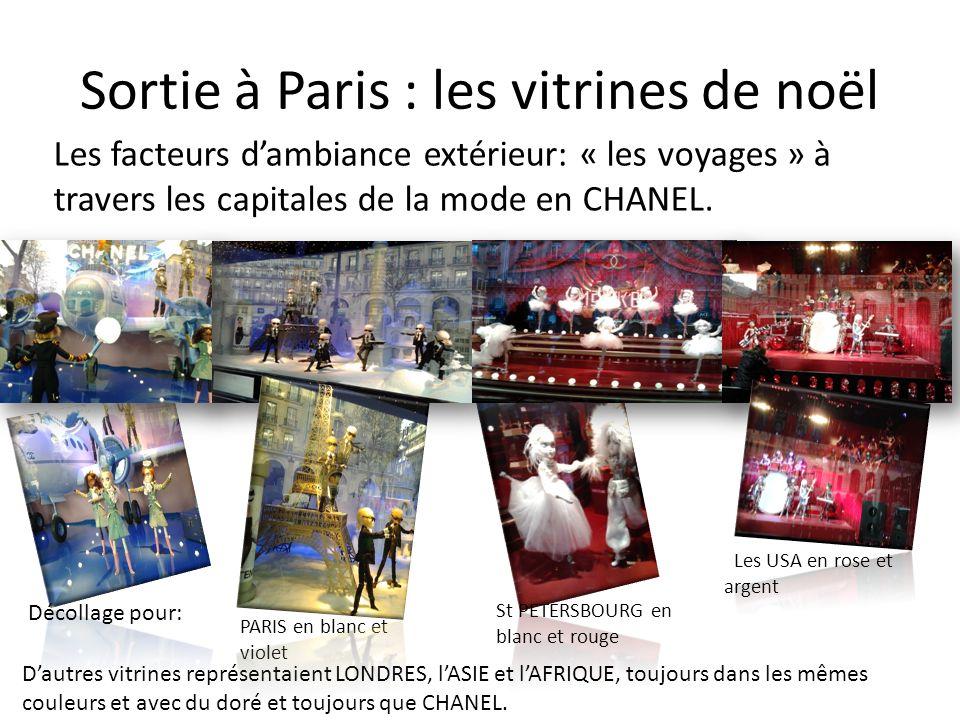Sortie à Paris : les vitrines de noël