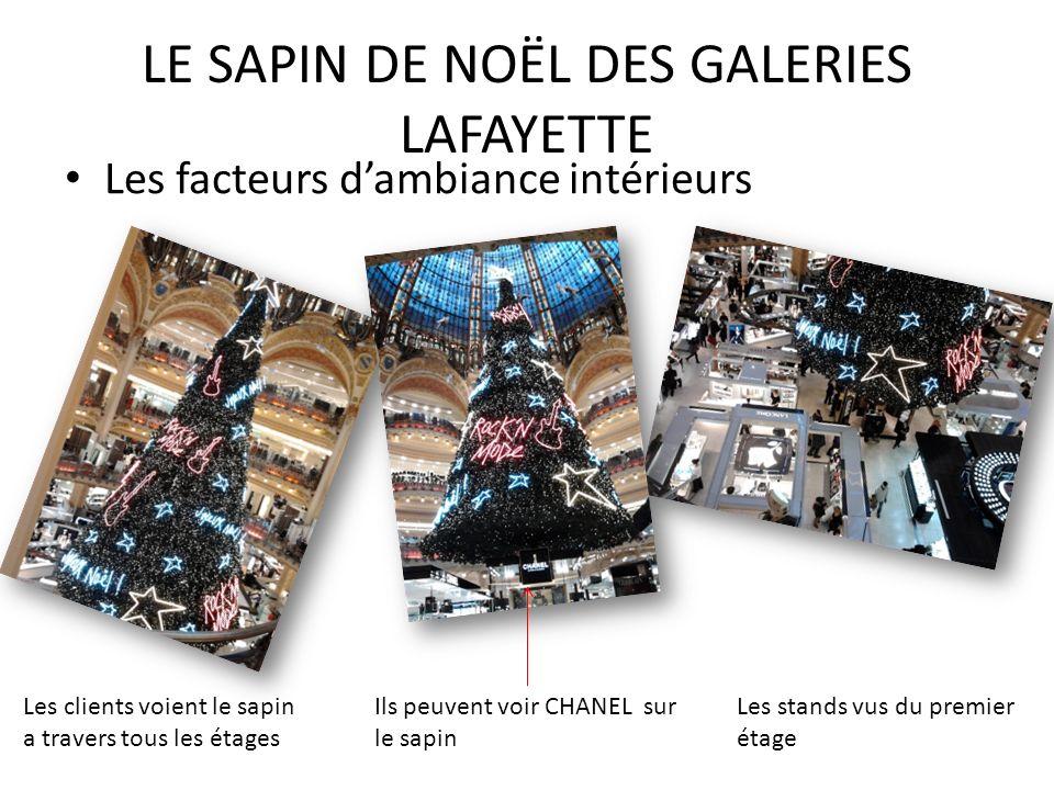 LE SAPIN DE NOËL DES GALERIES LAFAYETTE