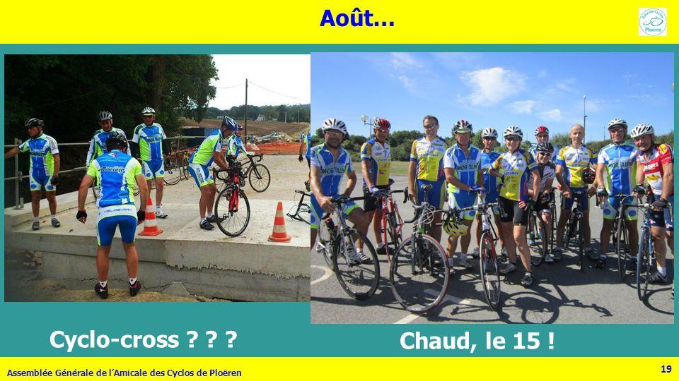 Août… Cyclo-cross Chaud, le 15 ! 19