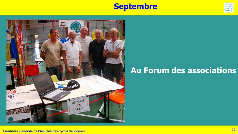 Au Forum des associations