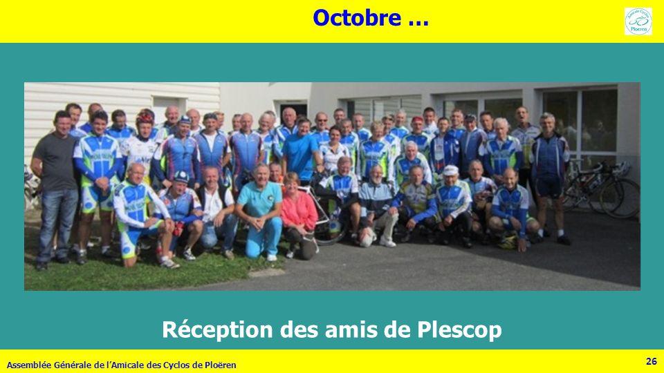 Réception des amis de Plescop