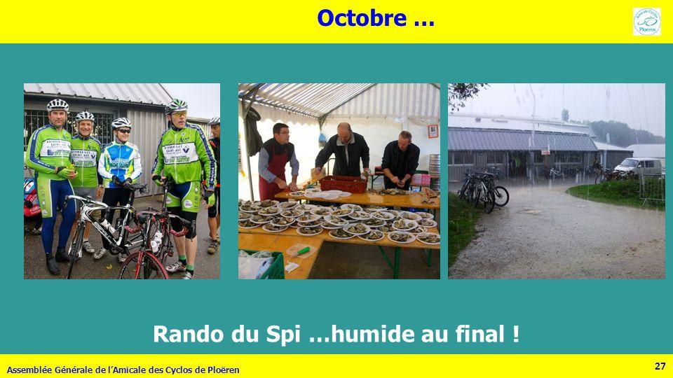 Rando du Spi …humide au final !