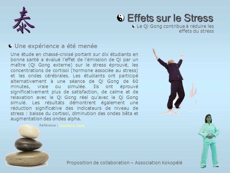 Le Qi Gong contribue à réduire les effets du stress