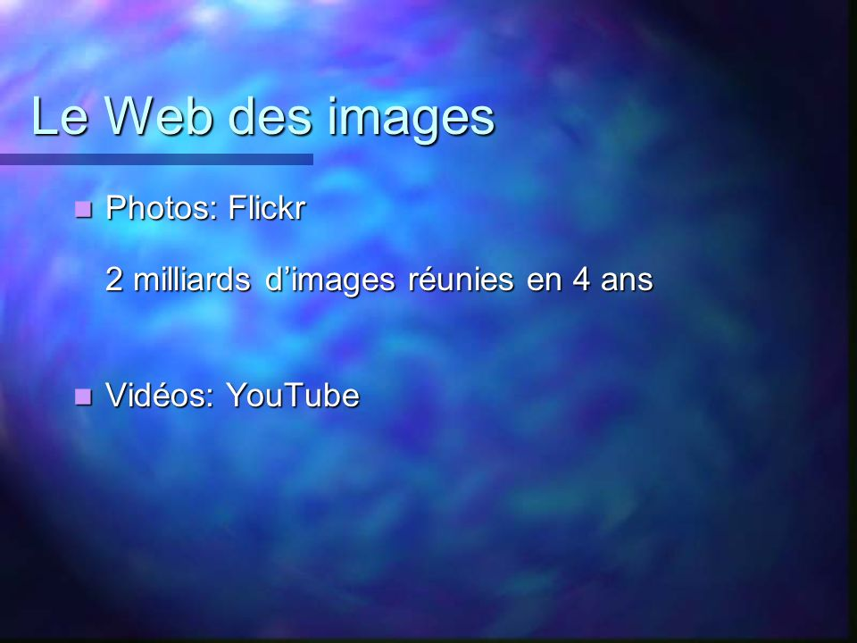Le Web des images Photos: Flickr 2 milliards d'images réunies en 4 ans