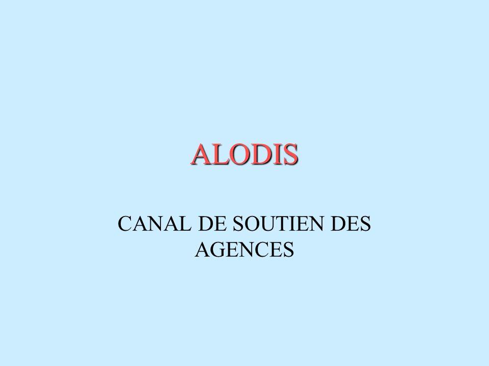 CANAL DE SOUTIEN DES AGENCES