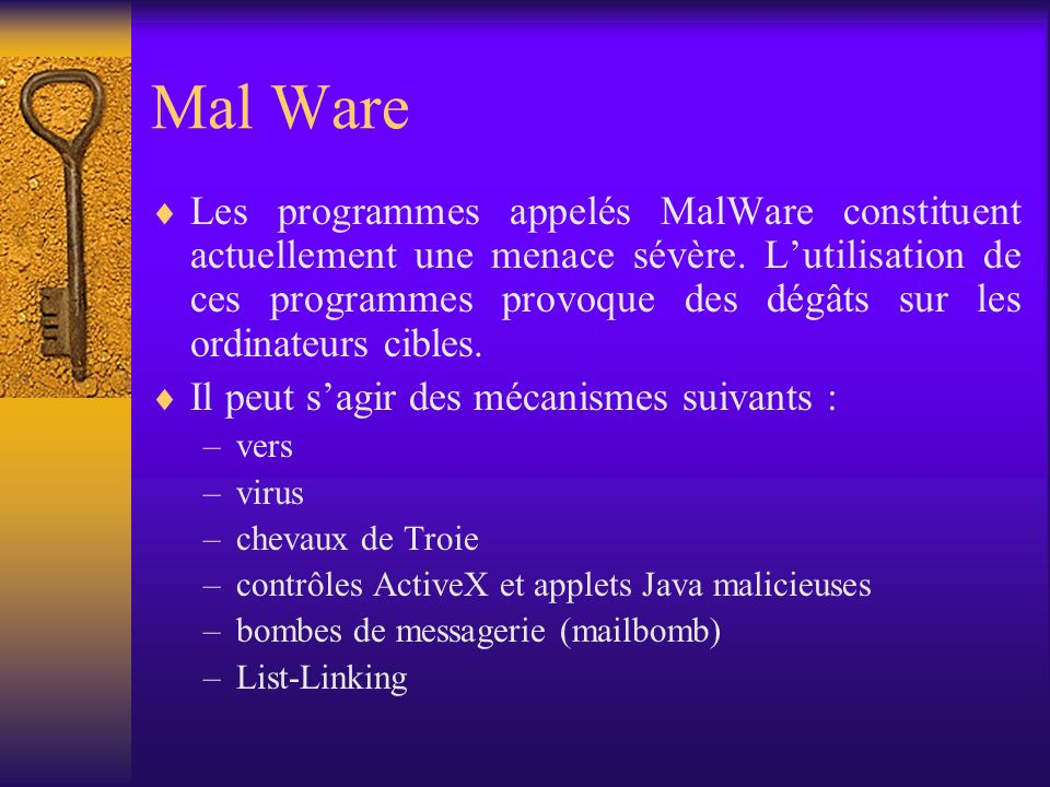 Mal Ware