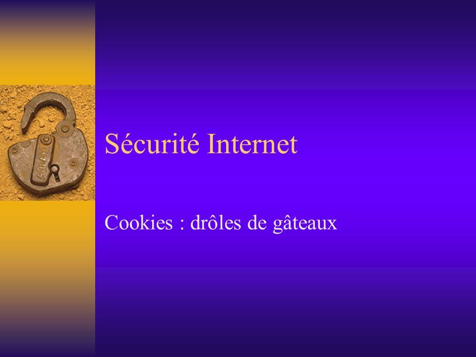 Cookies : drôles de gâteaux