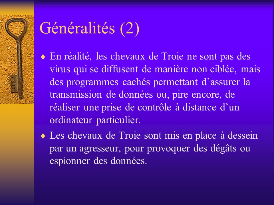 Généralités (2)