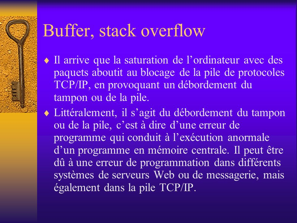 Buffer, stack overflow
