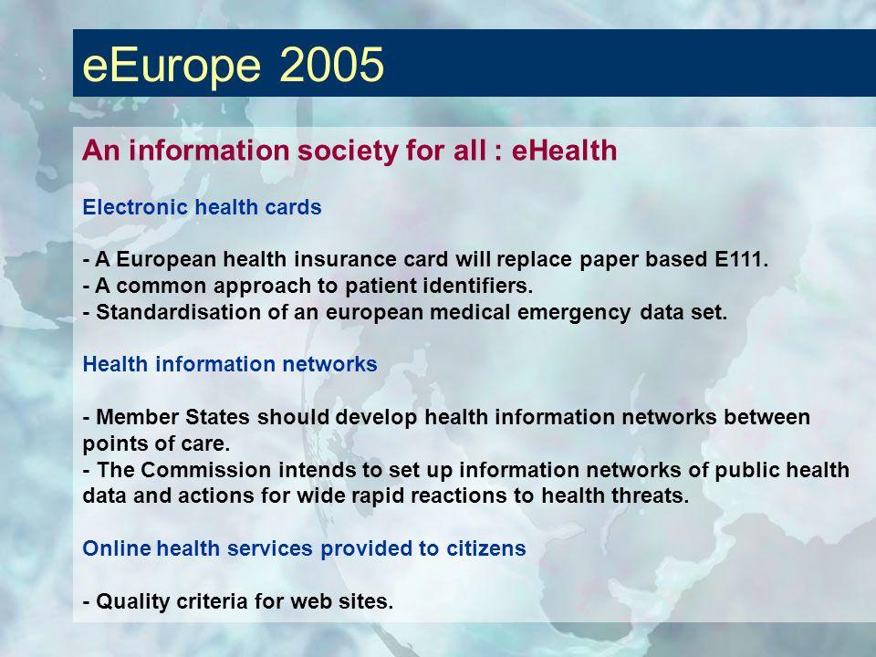 eEurope 2005