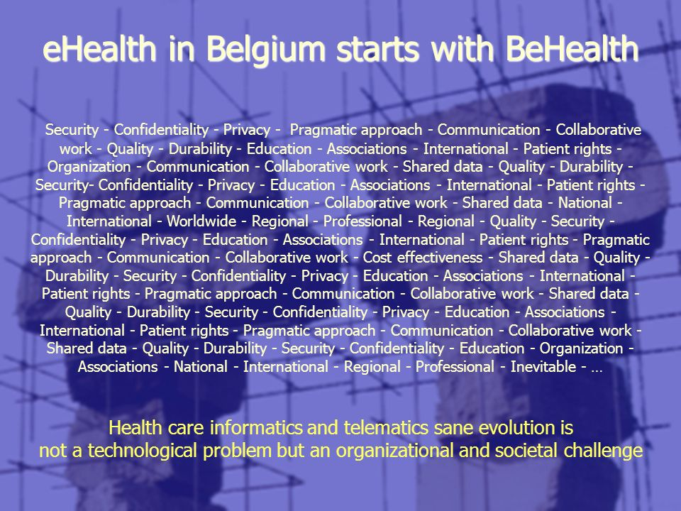 eHealth in Belgium starts with BeHealth