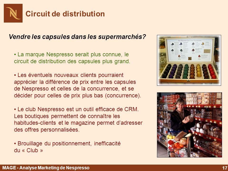 Circuit de distribution