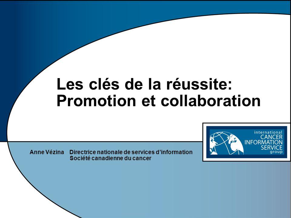 Les clés de la réussite: Promotion et collaboration