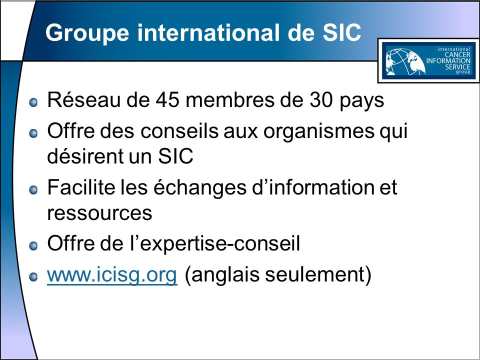 Groupe international de SIC