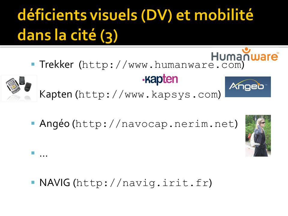 déficients visuels (DV) et mobilité dans la cité (3)