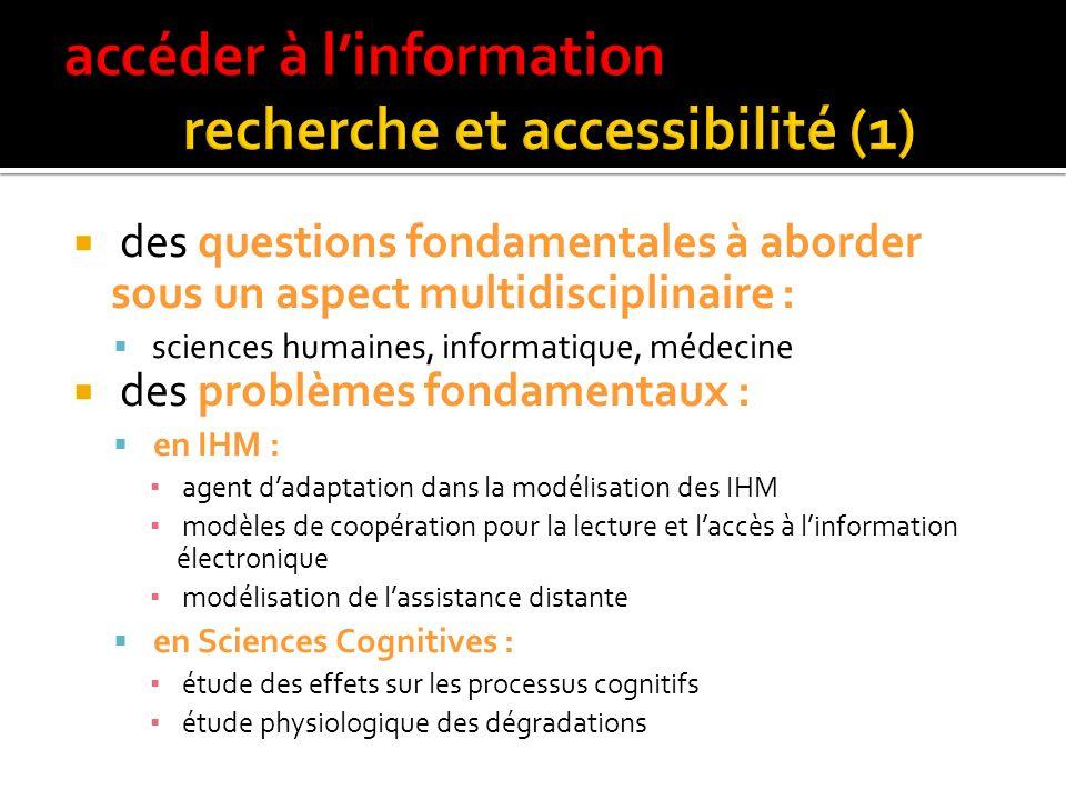 accéder à l'information recherche et accessibilité (1)